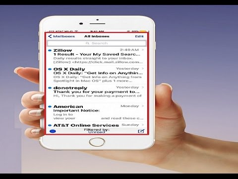 How to See All Unread Emails in iOS Mail the (easy steps)
