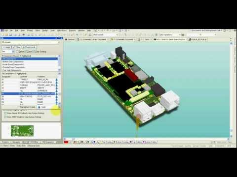 Altium Designer - 3D model of your PCB - it's really easy