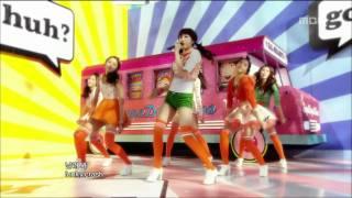 Dal Shabet - Supa Dupa Diva, 달샤벳 - 수파 두파 디바, Music Core 20110108