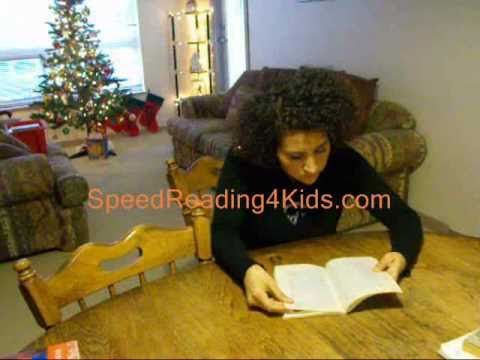 Sarita can Speed Read 106 page book in 9 minutes 38 seconds--Gives book report and interview