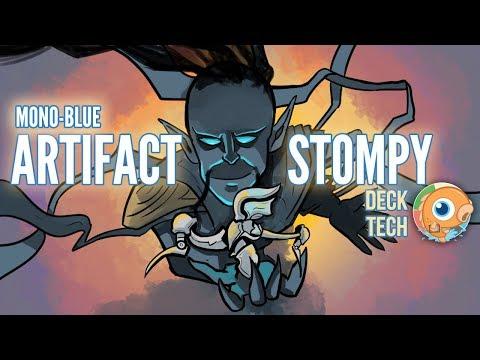 Instant Deck Tech: Mono-Blue Artifact Stompy (Modern)