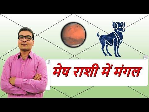 मेष राशि में मंगल के परिणाम (Mars In Aries) | ज्योतिष (Vedic Astrology) | हिंदी (Hindi)