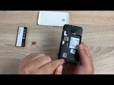 Insert a sim card into Vodafone Smart Mini 7