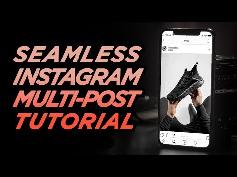How To Make A SEAMLESS Instagram Multi-Post | Photoshop Tutorial | DevanOnTech