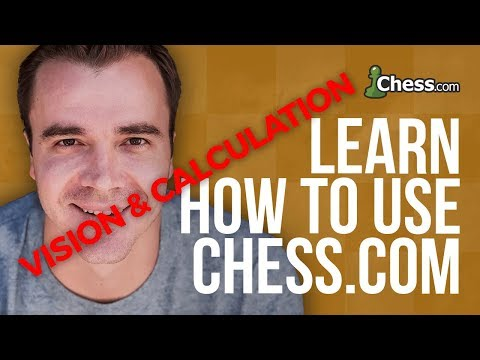 Using Chess.com: Vision and Calculation Trainer