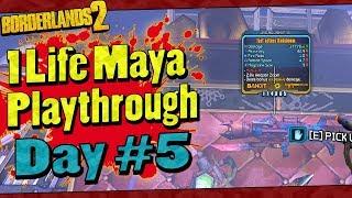 Borderlands 2 | 1 Life Maya Playthrough | Day #3 - PakVim
