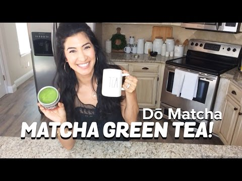 MATCHA GREEN TEA! What it is, and how to make it! Healthy, great caffeine option!