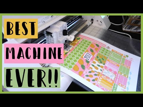 How I print & cut my stickers (Silhouette Cameo) | June 15, 2017