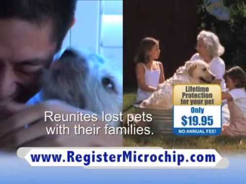 National Pet Microchip Registration Database