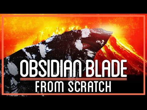 Turning Volcanic Rock into a Blade that's Sharper than Steel