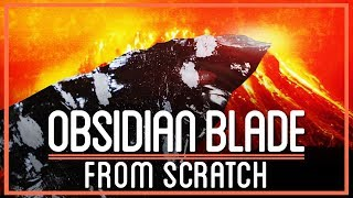 Turning Volcanic Rock into a Blade that