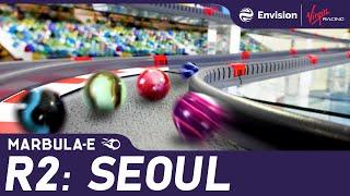 """Marbula E Race 2 """"Seoul"""" - Marble Race by Jelle's Marble Runs & Formula E"""