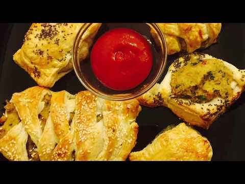 Chicken & Veg Pasties Made From Leftover Foods.