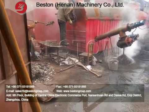 Charcoal Making Machine for Wood, Coconut Shell, Sawdust, Bamboo, Straw, Palm Shell, Rice Husk etc.