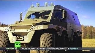 RT - Avtoros Shaman 8x8 All-Terrain Vehicle (ATV) [720p]