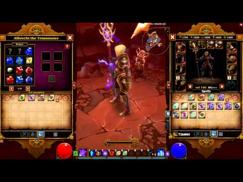 Torchlight 2- Crafting Recipes-NEW!- More Clear!