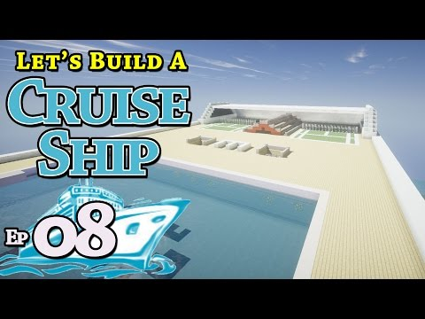 How To Build A Cruise Ship :: Minecraft :: E8 :: Z One N Only