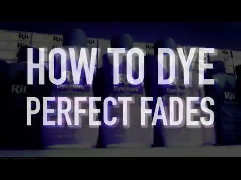 How To Dye The Perfect Fade
