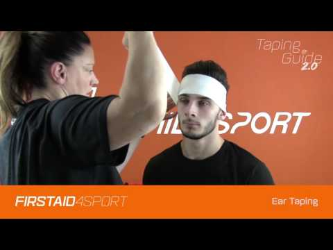 Ear Taping for Rugby