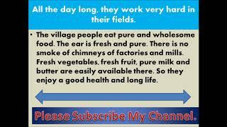 Paragraph on My Village🏡   Essay onour village    রচনা