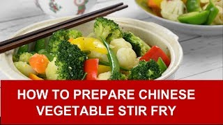 Vegetable stir fry – How to prepare in four easy steps (with in-depth explanation)