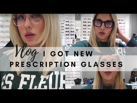I GOT NEW PRESCRIPTION GLASSES || STYLE LOBSTER