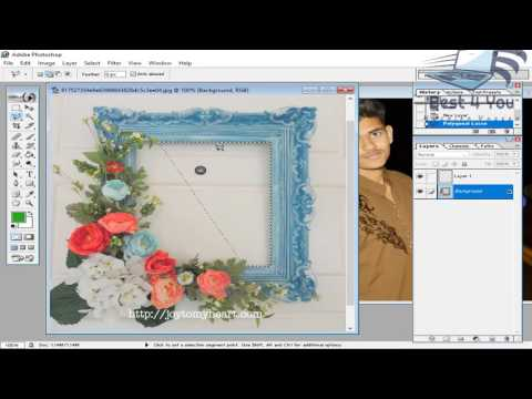 How to add photo farm in your picture using photoshop 7.0