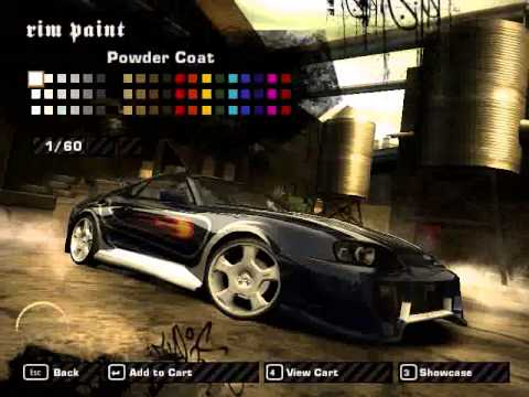 NFS Most Wanted 2005 How to make Vic's Supra
