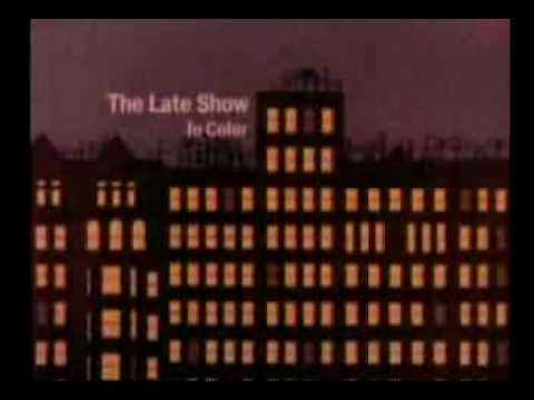 WCBS TV The Late Show opening.