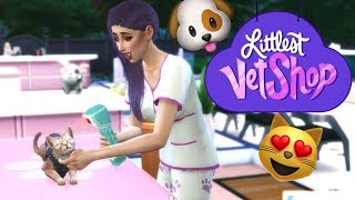 Opening my Vet Shop | LVS - Ep2 - Sims4 Cats & Dogs