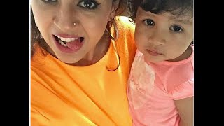 MS Dhoni Wife Sakshi and Daughter  Ziva Dhoni ,How cute is this one Video??