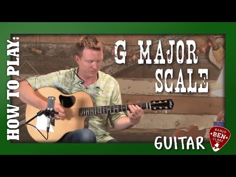 G Major Scale & Speed Builder Guitar Lesson