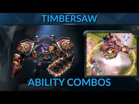 Timbersaw Ability Combos | Dota 2 Hero Guide | GameLeap