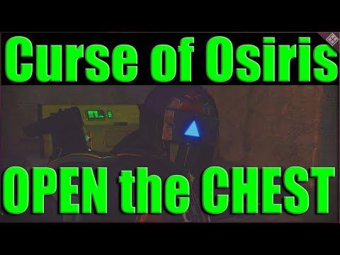 Destiny 2 Secret Lighthouse Chest on Mercury in Curse of Osiris, Region Chest Steps