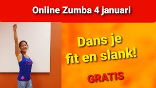 Gratis Zumba Online Les - Dans je Fit en Slank - Thuis Dans Workout Dance Passion