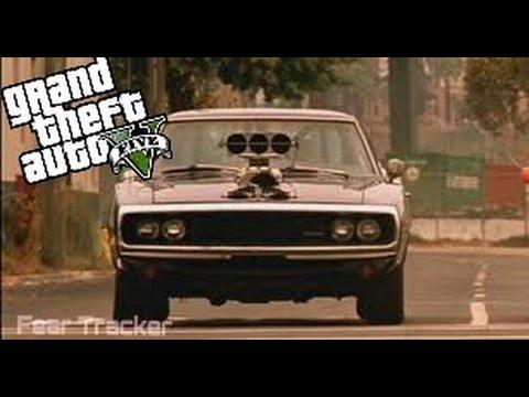 DODGE CHARGER F&F SU GTA 5!!!!! F&F cars#3