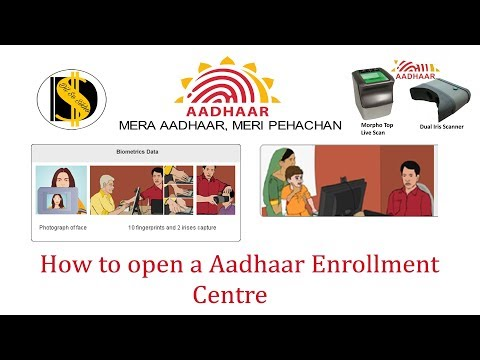 CSC How to open aadhaar enrollment center in your city/ village
