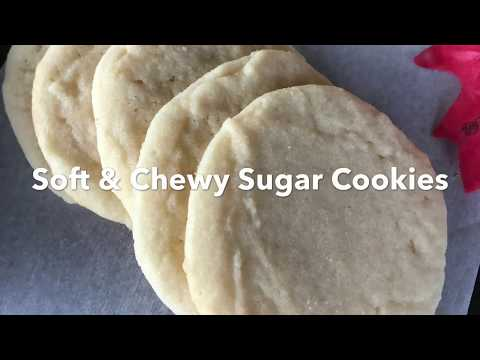 sugar cookies (soft & chewy)how to make easy sugar cookies| Frankenstein cookies