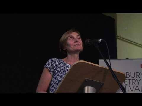 Jane Clarke live at Ledbury Poetry Festival