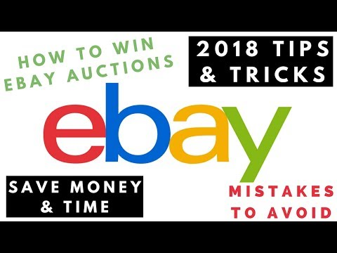 How to win eBay auctions, eBay tips & tricks 2018 / How to bid on eBay successfully / How to snipe