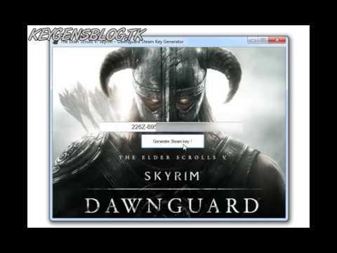 The Elder Scrolls V Skyrim -- Dawnguard Steam KeyGen