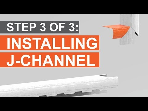 How to Trim a Window: Installing J-Channel