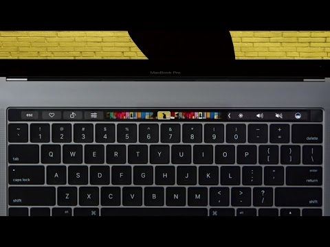 How to customize TOUCH BAR & set up TOUCH ID on MacBook Pro