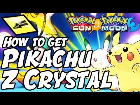 How to Get Pikachu Z Crystal Location – Pokémon Sun and Moon Pikanium Z Location