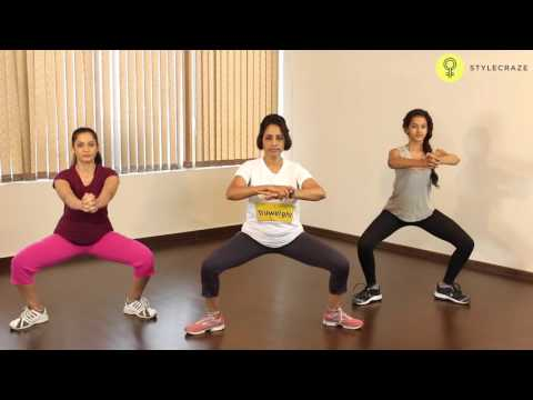How To Do INNER THIGH SQUAT Exercise