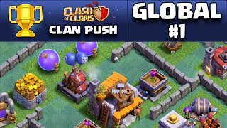 Clash of Clans - Builder Base Update - GLOBAL #1 CLAN Push!