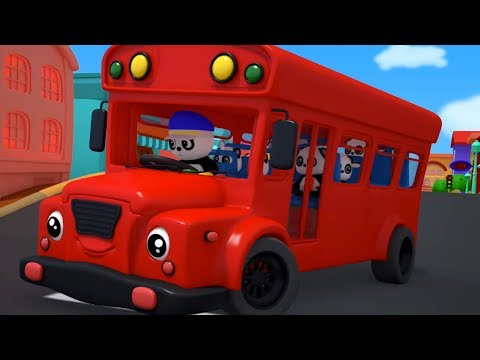 Wheels On The Bus | Baby Bao Panda | Nursery Rhymes For Kids