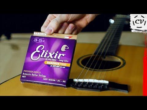 New Strings VS Old Strings (Elixir Phosphor Bronze)