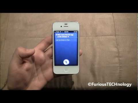 Funny things to ask Siri - iPhone 4s