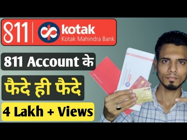 Download Kotak 811 bank account benefits   Debit Card   Credit Card   Checkbook   Passbook MP3 Gratis
